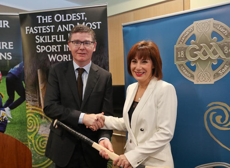 Hurling and camogie given global heritage status!