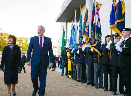 Leading the centenary commemoration of the RMS Leinster