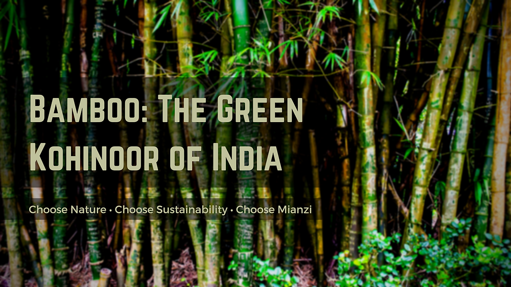 the green gold, poor man's timber, bamboo history in India