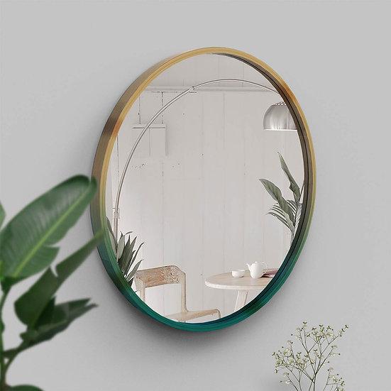 Mira Round: Eco-conscious, Hand-designed Bamboo Mirror