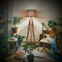 Butterfly Chair, Lotus Stool, Mushroom Floor Lamp