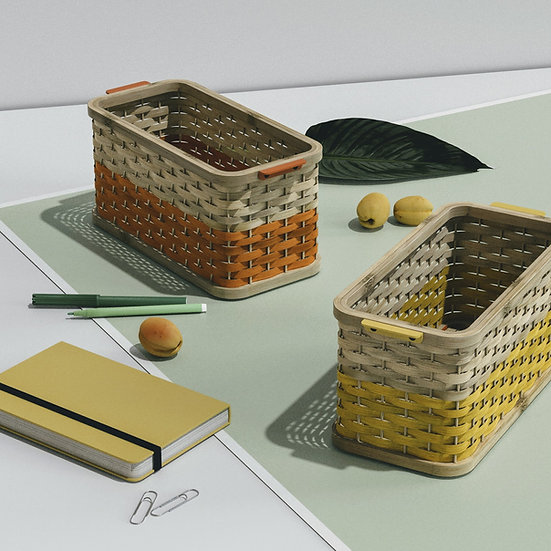 Bamboo Storage Baskets
