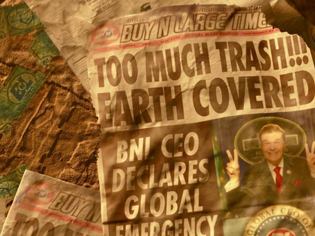 Earth and its Plastic Pollutants Problem