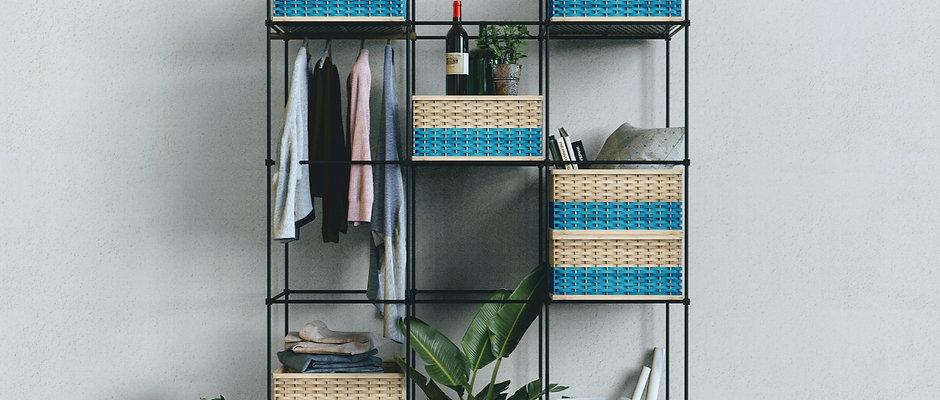 Hive Modular Wardrobe By Mianzi : Hand-designed, Sustainable Wardrobe System