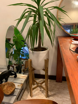 Bamboo Planter Stand