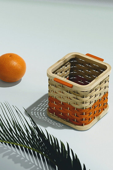 Bamboo Desk Basket