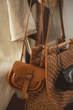 WlW Upcycling Leather Bag
