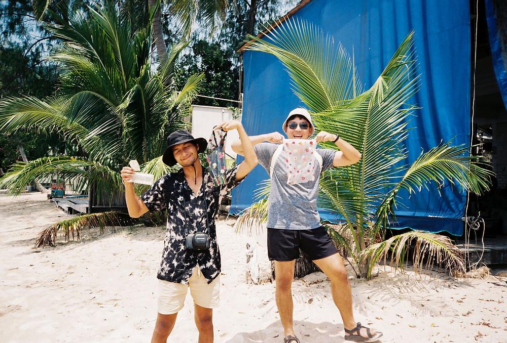 Our Thai beach clean up volunteers