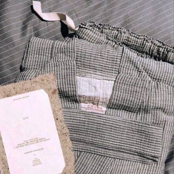WlW Seersucker Grey Set