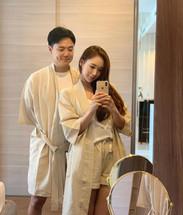 WlW Seersucker Beige Robe Couple Set.jpg