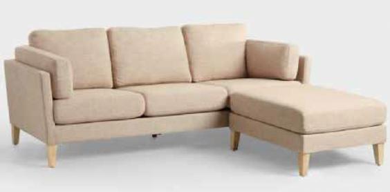 Hamptons Sofa & Ottoman