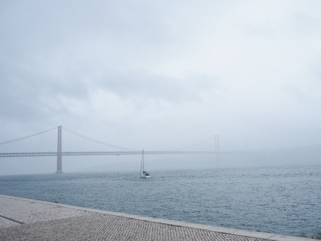 A rainy day in Lisboa