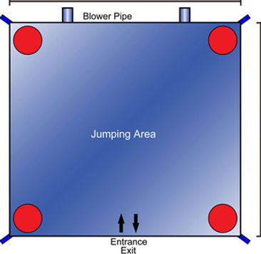 Jumping Castle Dimensions
