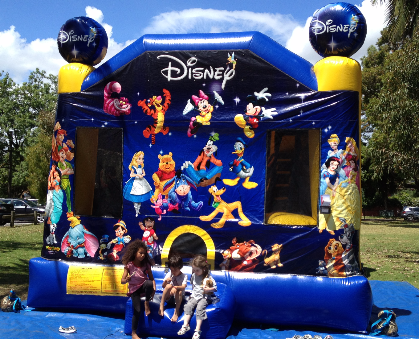 World of Disney Jumping Castle Hire