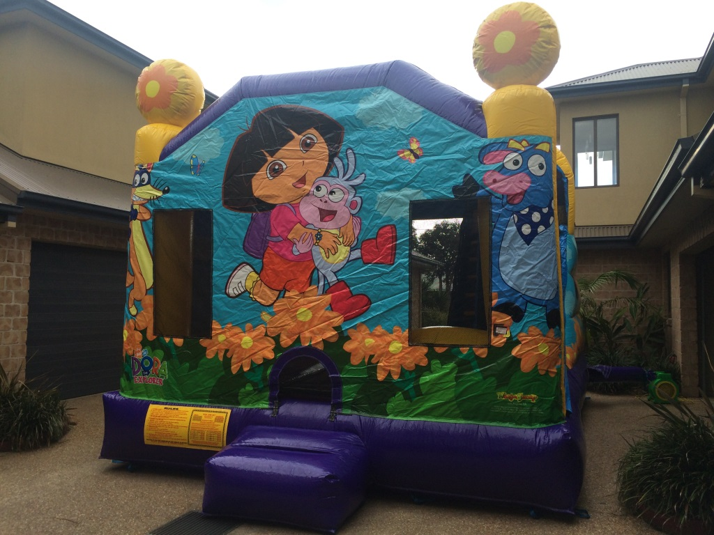 Dora The Explorer Jumping Castle Hir