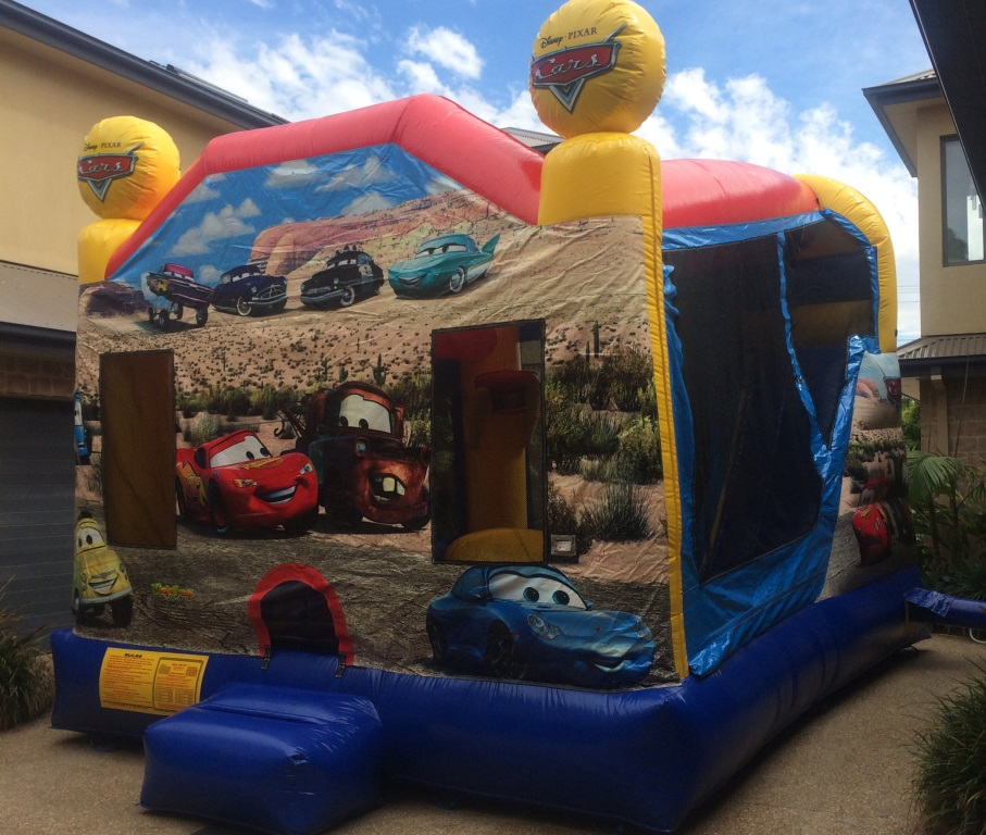 Cars Jumping Castle Hire Melbourne
