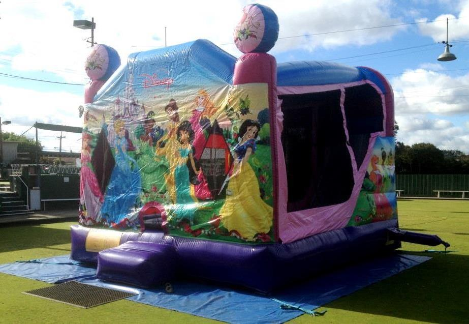 Disney Princess Jumping Castle Hire