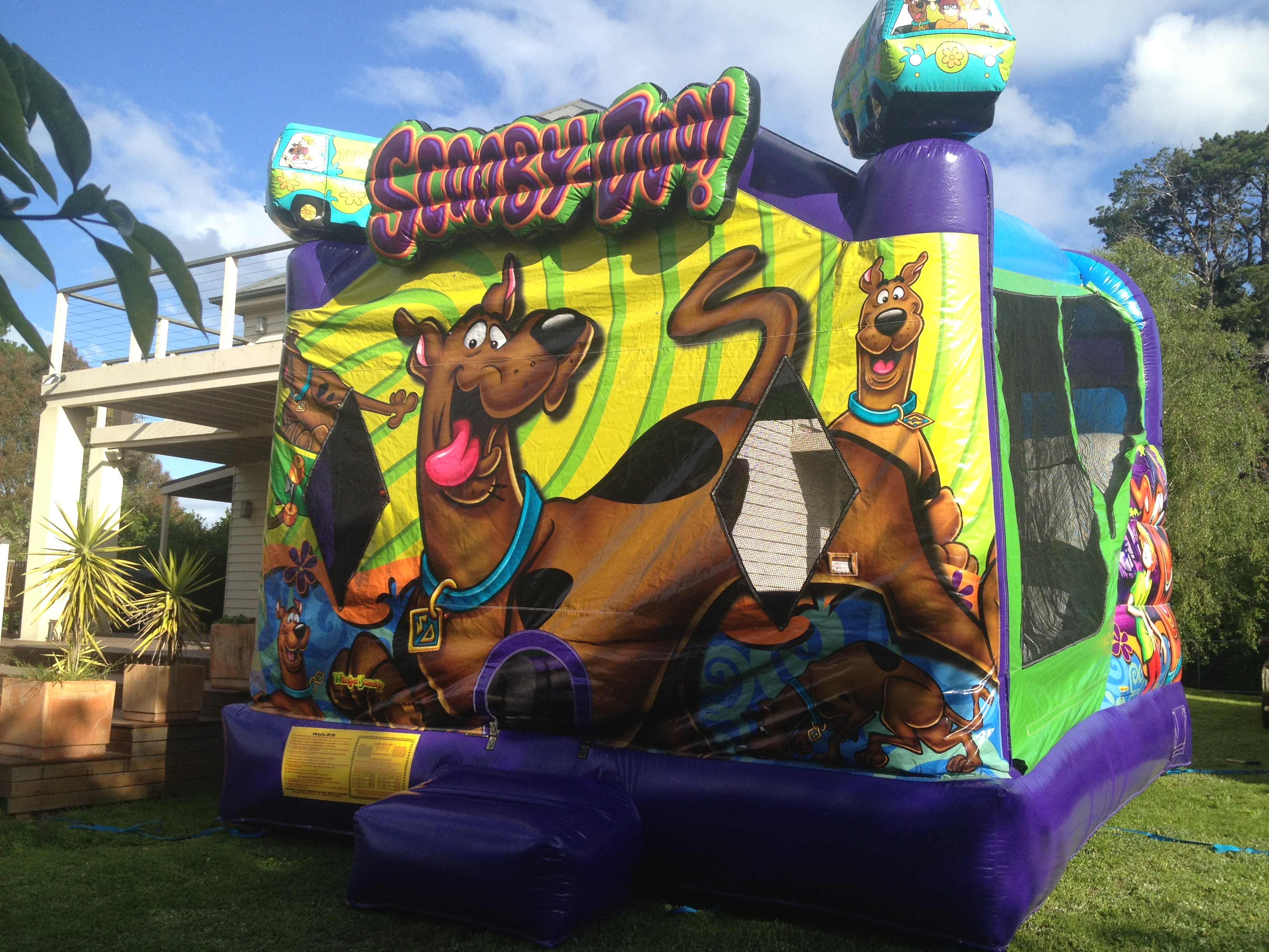 Scooby Doo Jumping Castle Melbourne