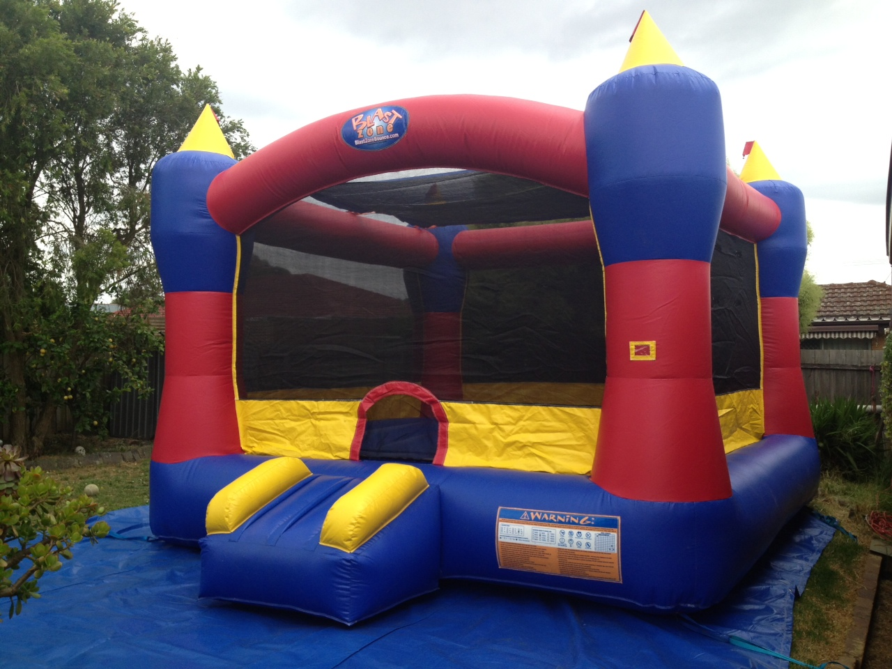 Blast Zone Jumping Castle Melbourne