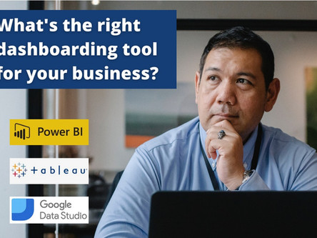 Choosing the right dashboarding tool for your business.