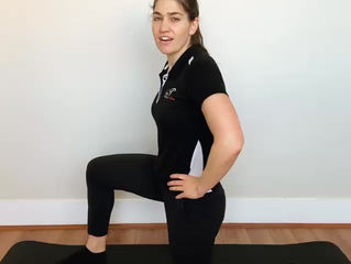 A great stretch for if you spend a lot of time sitting down!