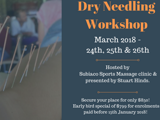 Dry Needling Course! March 2018