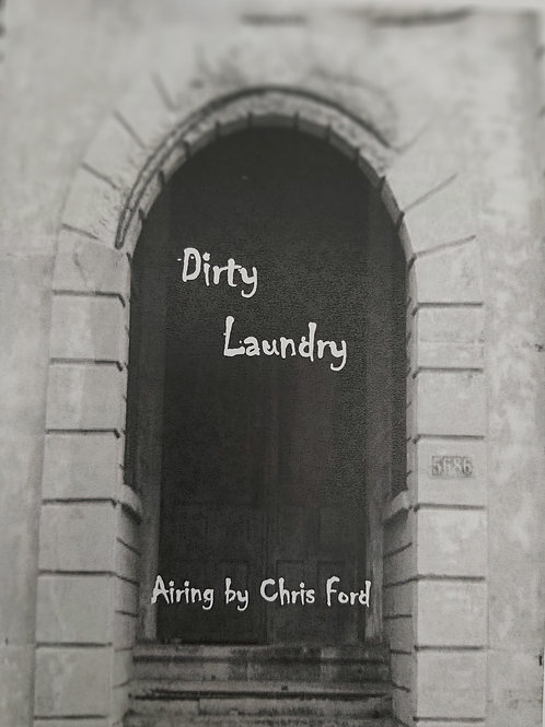 Dirty Laundry Airing by Chris Ford Poetry Book