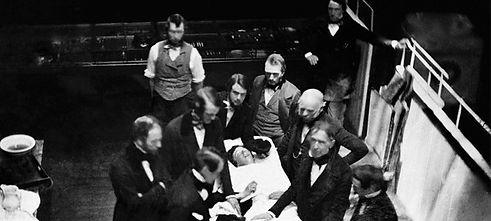 Public demonstration of medical ether 18