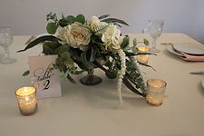 White and Green Wedding Decorations