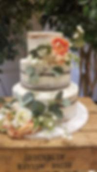 Wedding Cake Barefoot Beach Bride Ocean