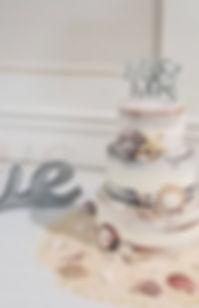 Nakes Wedding Cake