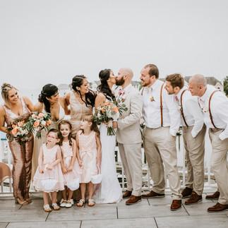 Ocean Pines Yatch Club Wedding Barefoot