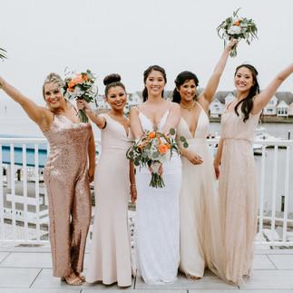 Ocean City Md wedding Barefoot Beach Bri