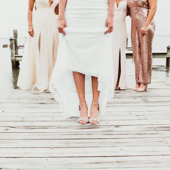 Ocean City Beach Wedding Bridesmaids Sho