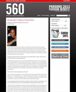 Parsons 560 Blog