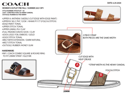 Flat Sandal Spec