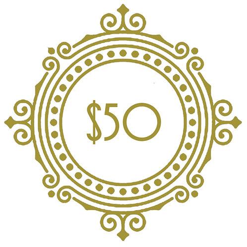 $50 Voucher