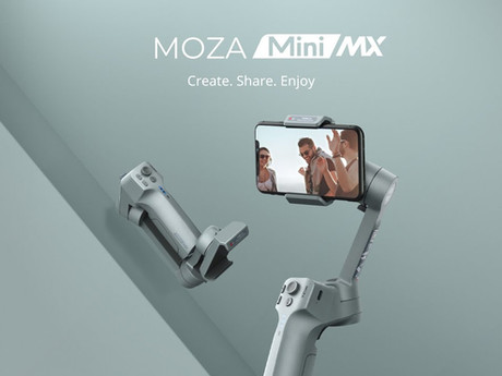 Moza Mini MX, a great gimbal with a flawed app