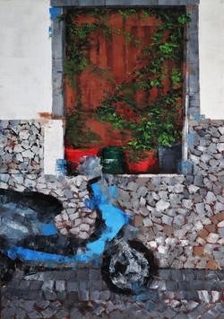 Window with a Bike