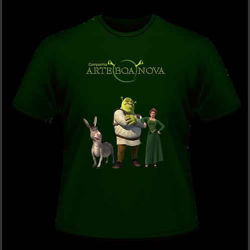 Camiseta Shrek em malha fria