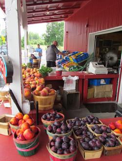 Fresh, locally-grown produce