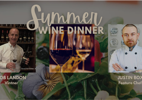 One More July Event in North Texas Wine Country