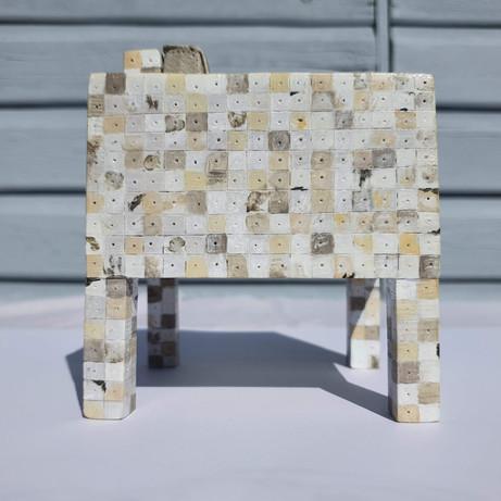 Replica of Piet Hein Eek 'Waste Waste' armchair
