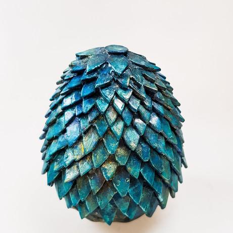 Blue Foam Dragon Egg