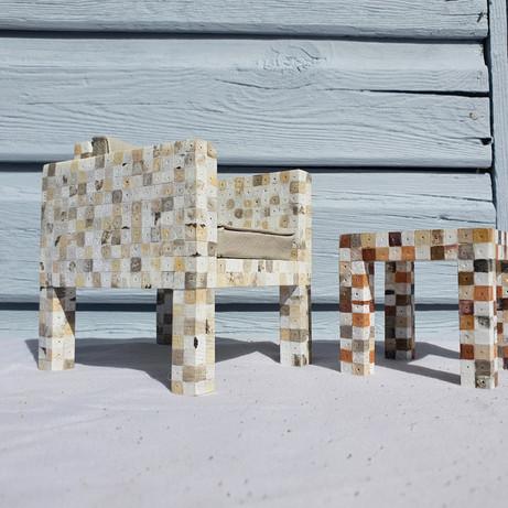 1:6 Scale Piet Hein Eek Furniture Replica