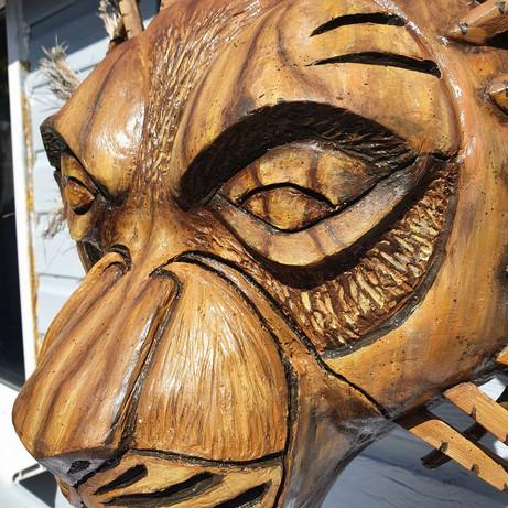 'Mufasa Mask' Close Up