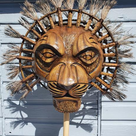 'Mufasa Mask' Replica