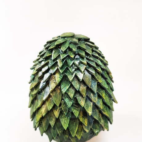 Green Foam Dragon Egg