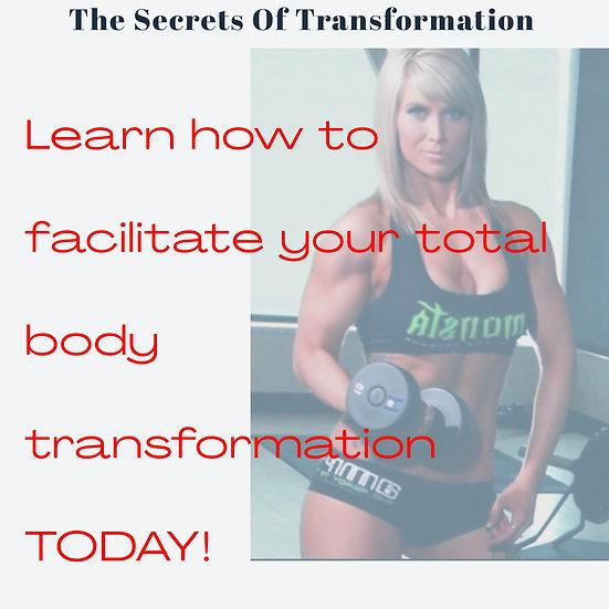 Ebook - Secrets of Transformation