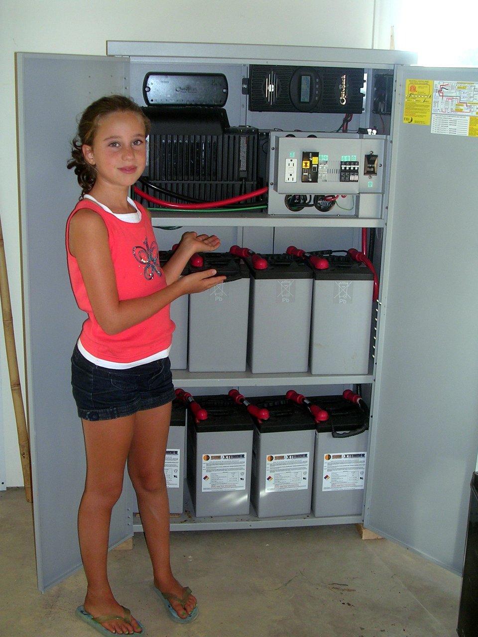 Residential solar backup power